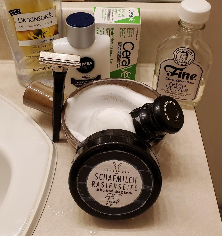 Sunday Schick shave, Feb 21st 2021.jpg