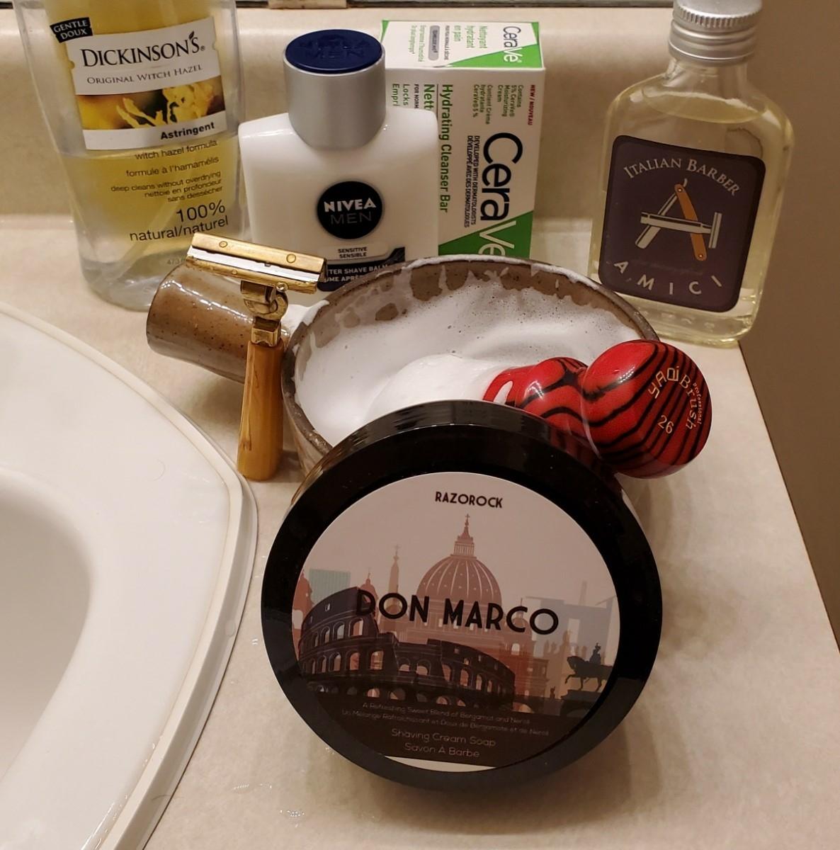 Sunday Schick shave Jan 10th 2021.jpg