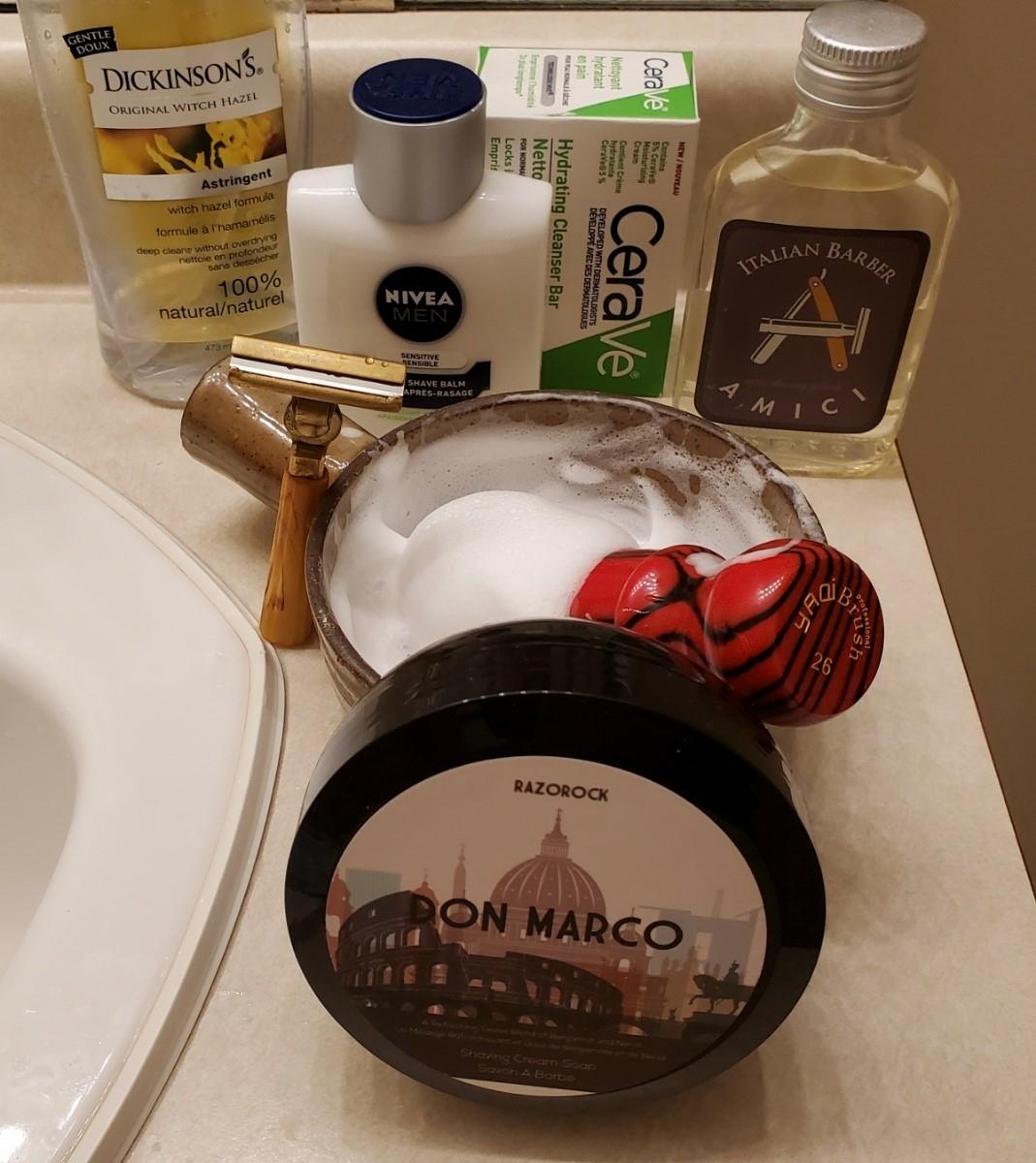 Sunday Schick shave Mar 7th 2021.jpg