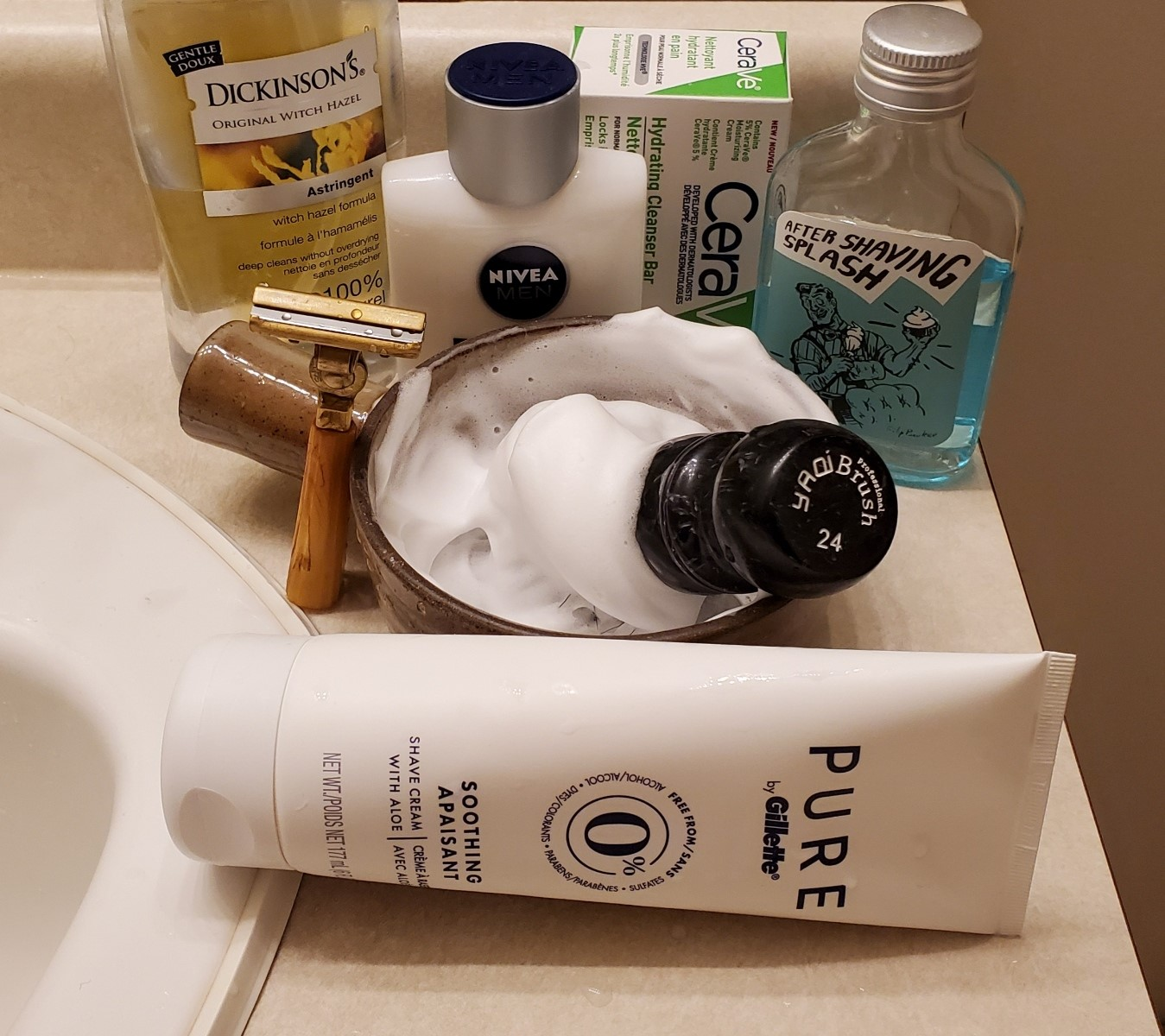 Sunday Schick shave, Nov 1st 2020.jpg