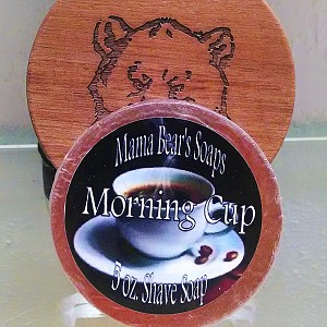 Mama Bear's Morning Cup Shaving Soap