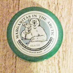 Stirling Glacial Margaritas in the Arctic shaving soap