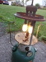 Old Coleman lantern  Should I do a full restoration? | Badger & Blade