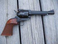 Custom revolver grips | Badger & Blade