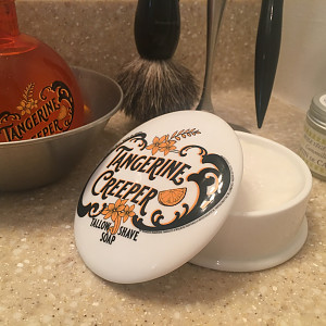 Tangerine Creeper soap & aftershave