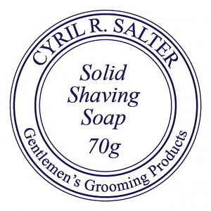 Cyril Salter Solid shaving soap (new TALLOW formula)