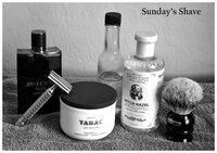 Sunday Shave 1 BW.jpg