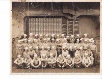 HDB USS Bunker Hill World War II - Only six in photo survived kamakaze attack.jpg