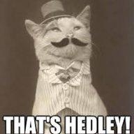 It's Hedley