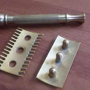 Brass Canadian Old Type Clone Disassembled