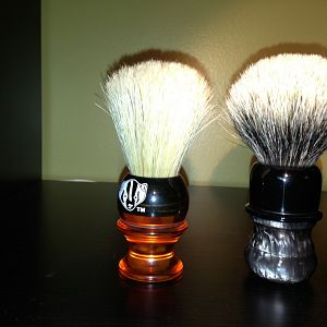 New brushes from WolfWhiskere
