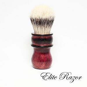 Burnt Purpleheart brush