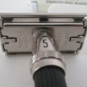 Bottom Plate 1969 Gillette Adjustable Razor
