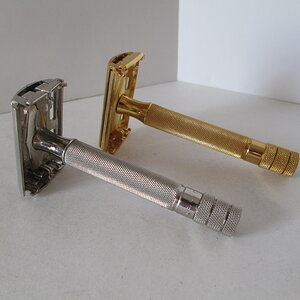 Gillette Gold vs Nickel Plated Razors