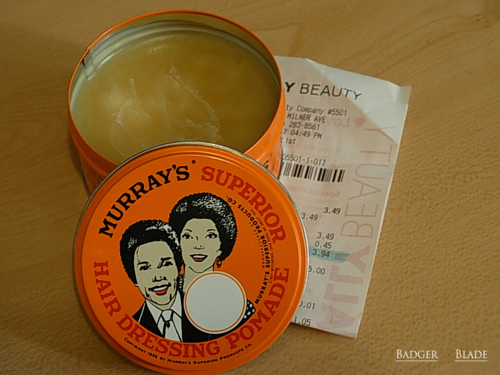 Murrays Pomade Superior Xtra Heavy Oilbased Referensi Daftar Harga Img Since This Is Oil Based